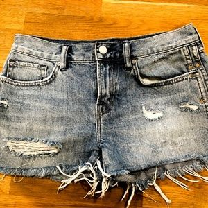 Allsaints jean shorts
